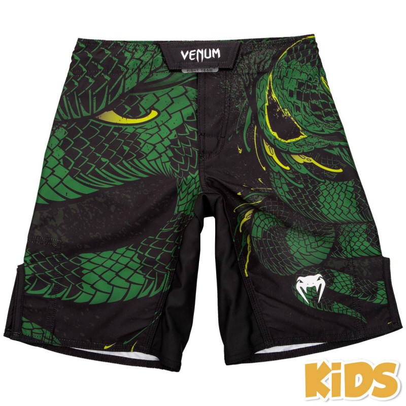 Детские шорты Venum Green Viper 2.0 Kids Black/Green 12 yrs
