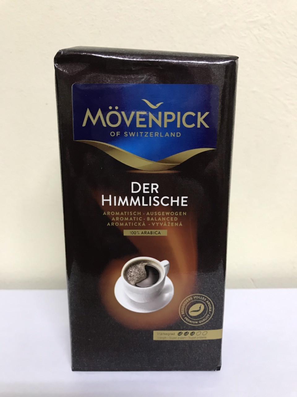 Кофе молотый Mövenpick Der Himmlische крепкий вкус 250 гр.
