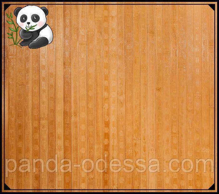 """Бамбуковые обои """"Конфетти"""" темные пропиленные, 1,5 м, ширина планки 17 мм / Бамбукові шпалери"""