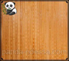 """Бамбукові шпалери """"Конфетті"""" темні пропиляні, 1,5 м, ширина планки 17 мм / Бамбукові шпалери"""