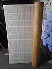 """Бамбуковые обои """"Конфетти"""" темные пропиленные, высота рулона 2 м, ширина планки 17 мм  / Бамбукові ш, фото 6"""
