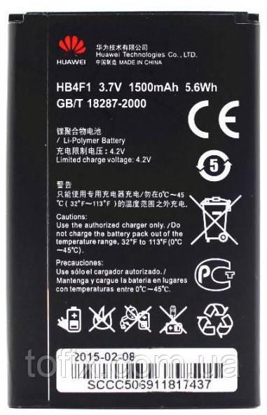 Батарея (акб, аккумулятор) HB4F1 для Huawei U8800, 1500 mAh, оригинал