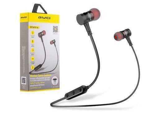 Беспроводные Bluetooth-наушники AWEI B922 bl Красный, фото 2