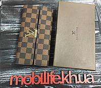 147c599dd8b1 Стильный портмоне луи витон, Женский кошелек Louis Vuitton Коричневый копия  LUX