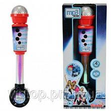 Музыкальный микрофон MP3 Simba звуковые и световые эффекты