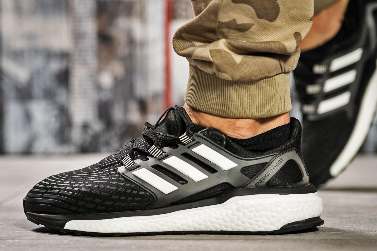 Кроссовки мужские 13822, Adidas Ultra Boost, черные ( 42 43  )