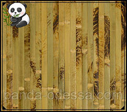 "Бамбуковые обои ""Черепаха"" оливковая, 2 м, ширина планки 17 мм / Бамбукові шпалери"