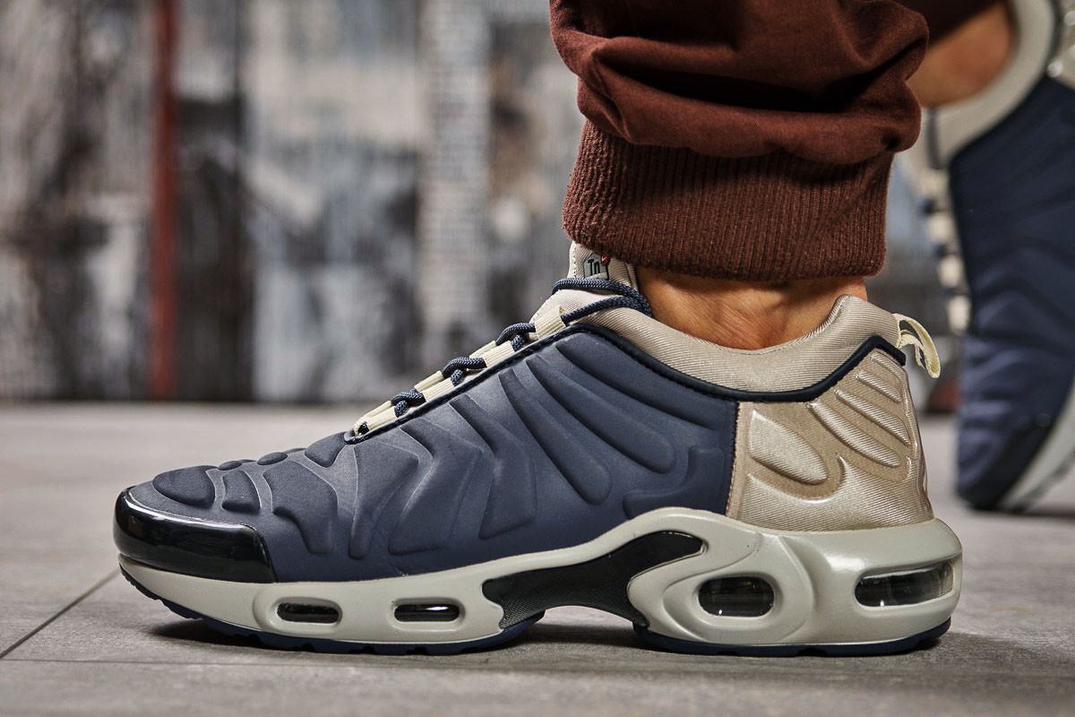 Кроссовки мужские 14603, Nike Tn Air, синие ( 42 43  )