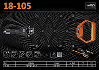 "Заклепочник ""гармошка"" L-820мм., заклепки Ø2.4-4.8мм., NEO 18-105"