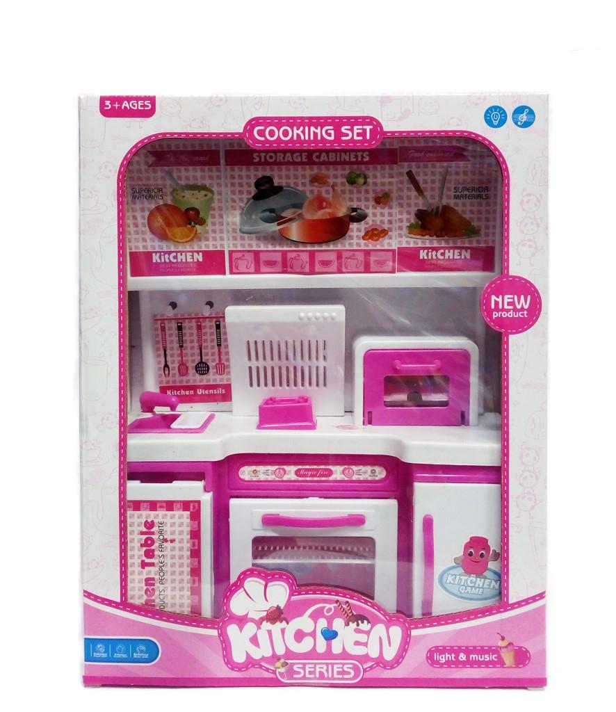 Кухня Для Кукол Kitchen 2075 Со Светом И Звуком