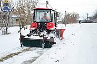 Щетка дорожная (коммунальная) к трактору МТЗ, ЮМЗ, фото 1