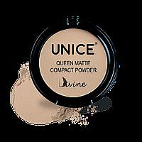 Матуюча компактна пудра Giz Unice Divine Queen Matte QMP02 11,5 г (3330006)