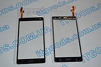 Оригинальный тачскрин / сенсор (сенсорное стекло) для HTC Desire 600 606 606W (черный цвет) + СКОТЧ В ПОДАРОК