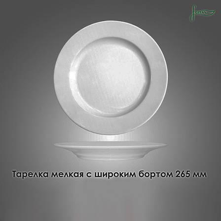 Тарелка с бортом Farn фарфоровая 265 мм (8045HR), фото 2