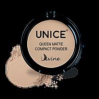 Матуюча компактна пудра Giz Unice Divine Queen Matte QMP03 11,5 г (3330007)
