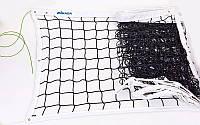 Сітка для волейболу MIKASA (PP 4мм, р-н 9,5х1м, з метал. тросом)дубл