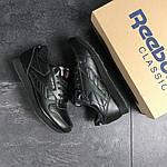 Мужские кроссовки Reebok (Черные), фото 4