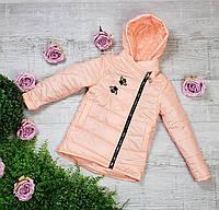 Куртка весна-осень 784, размеры 128-146 (6-11 лет), цвет сирень, фото 1