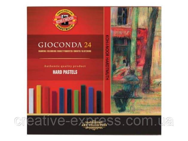 Крейда-пастель тверда Gioconda, 24 кол., фото 2