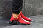 Мужские кроссовки Adidas NMD Human RACE (красные), фото 3