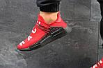 Мужские кроссовки Adidas NMD Human RACE (красные), фото 6