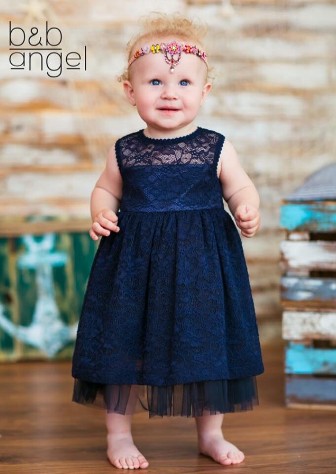 Нарядное платье  для маленькой девочки тм Baby Angel р-ры 74,80