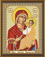 Набор для вышивки бисером Богородица Иверская  С 6009