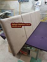 Мягкие изголовья для кроватей, мягкие панели, стеновые панели на заказ, фото 1