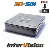 3МП 4-канальный 3G-SDI видеорегистратор 3MR-41USB Intervision