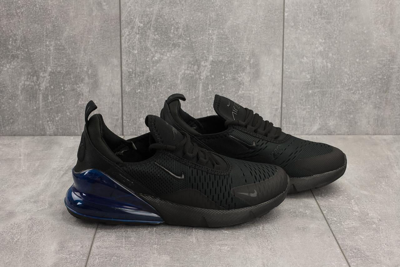 Мужские кроссовки Nike Air Max 270,черные с синим