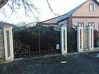 Кованые ворота В-50, фото 1