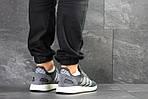 Мужские кроссовки Adidas Iniki (серо-белые) , фото 3