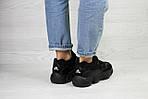Женские кроссовки Adidas Yeezy 500 (черные) , фото 2