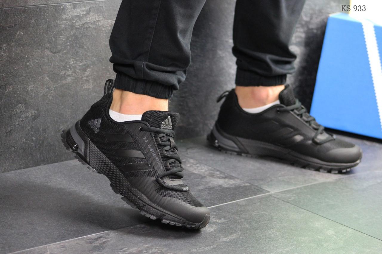 Мужские кроссовки Adidas Fast Marathon 2.0 (черные)