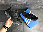 Мужские кроссовки Adidas Fast Marathon 2.0 (черные) , фото 6