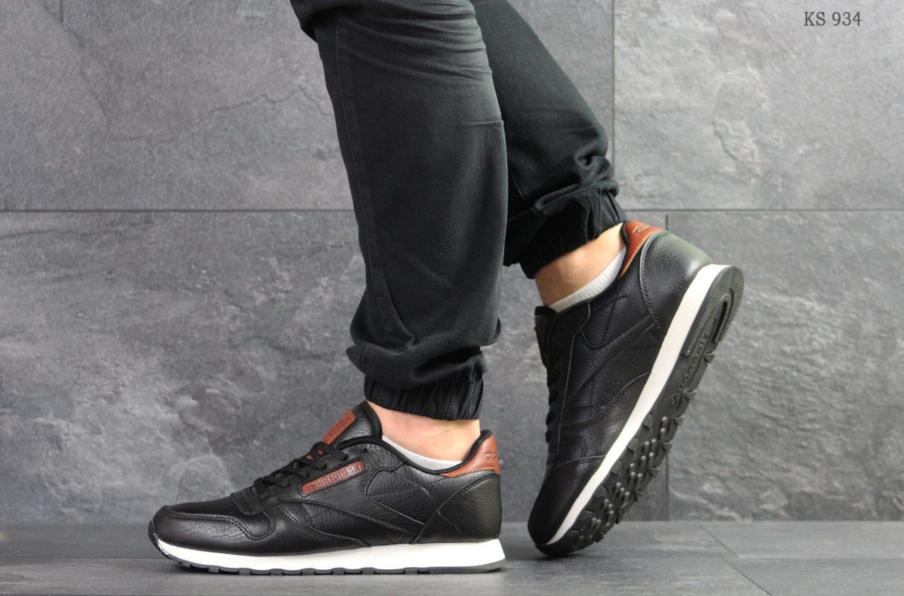 Мужские кроссовки Reebok (черно-белые)