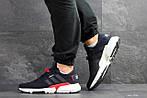 Мужские кроссовки Adidas POD-S3.1 (темно-синие с белым/красным), фото 3
