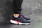 Мужские кроссовки Adidas POD-S3.1 (темно-синие с белым/красным), фото 4