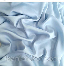 Сатин (хлопковая ткань)  светло-голубой однотон