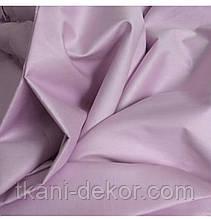 Сатин (бавовняна тканина) бузок однотон