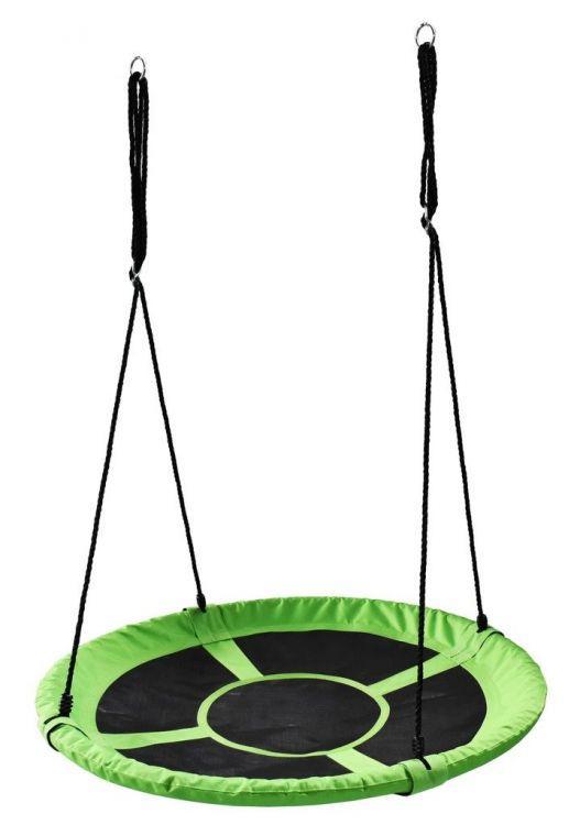 Дитяча гойдалка гніздо підвісна Ecotoys SW10 зелений (18201)