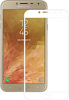 Защитное стекло Mocolo 2.5D Full Cover Tempered Glass Samsung Galaxy J4 J400F (2018) White