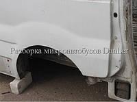 Четверть задняя левая Опель Виваро б/у (Opel Vivaro II)