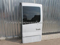 Дверь задняя правая со стеклом Опель Виваро б/у (Opel Vivaro II)