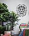 Декоративное панно из дерева Лев, фото 2