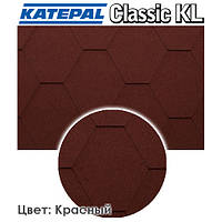 Битумная черепица Katepal KL цвет - Красный