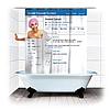 Шторка для душа ванной Фейсбук