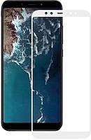 Защитное стекло Mocolo 2.5D Full Cover Tempered Glass Xiaomi Mi A2 (Mi 6X) White