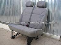 Сиденье переднее левое двойное Англ. Опель Виваро б/у (Opel Vivaro II)