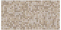 Панель ПВХ Мозаика коричневая с узорами  (480х955мм)